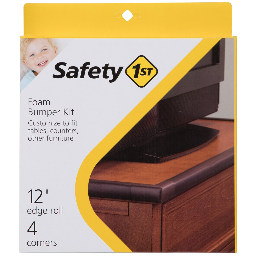 Image of Safety 1st Foam Bumper Kit - Brown, Beige