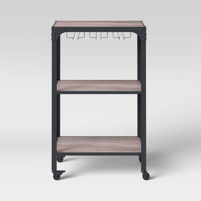 Jackman Microwave Cart Gray - Threshold™