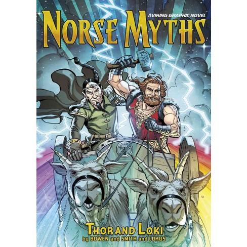 norse myths thor and loki a viking graphic novel paperback