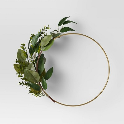 Ring Wreath with Faux Greens - Project 62™