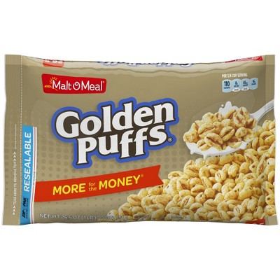 Breakfast Cereal: Golden Puffs