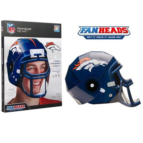 f57c31ff0e489 NFL Denver Broncos FanHeads Laminate Paper Football Helmet   Target
