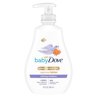 Baby Dove Calming Nights Warm Milk & Chamomile Calming Scent Night Time Lotion - 13oz