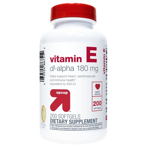 Vitamin E Softgels - 200ct - Up&Up™ - image 1 of 2