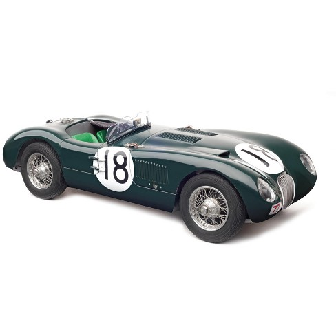 Jaguar C-Type #18 Winners 24 Hours of Le Mans France (1953) Limited Edition to 1500 pieces 1/18 Diecast Model Car by CMC - image 1 of 4