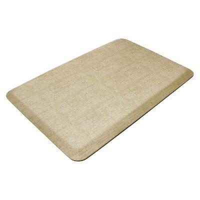 Light Brown Designer Comfort Kitchen Mat 20 x32 - Newlife By Gelpro®