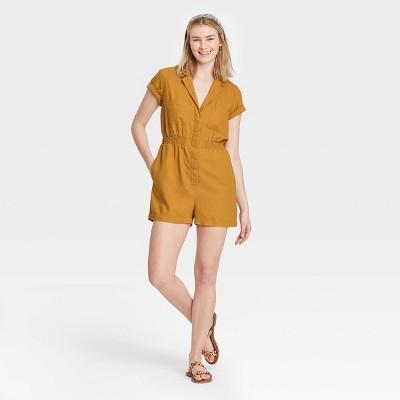 Women's Short Sleeve Boilersuit - Universal Thread™