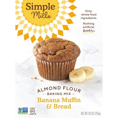 Baking Mixes: Simple Mills Banana Muffin & Bread Almond Flour Mix