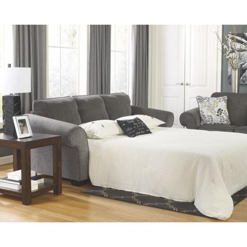 Makonnen Queen Sofa Sleeper Charcoal Signature Design By Ashley Target