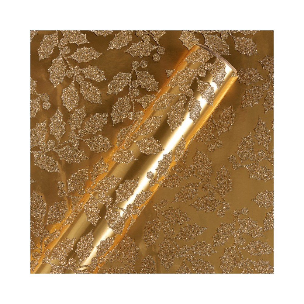 Papyrus Gold Holy Pattern Wrapping Paper, Multi-Colored