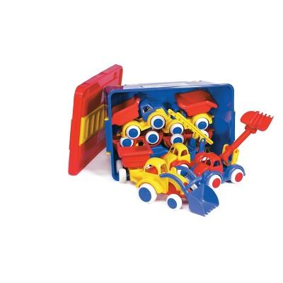 Viking Toys Jumbo Assortment in Plastic Storage Wagon - 8pc