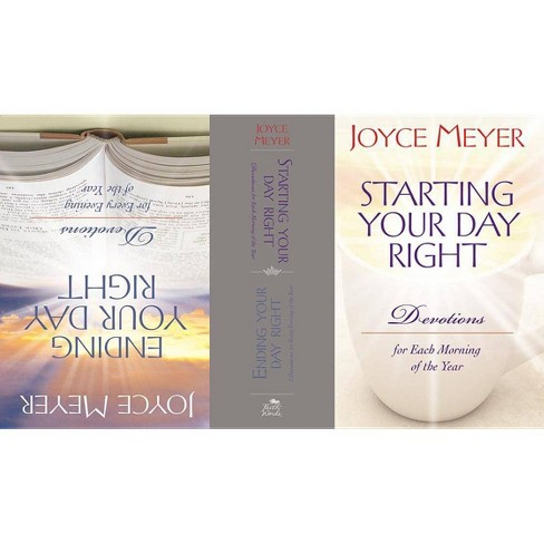 Starting & Ending Your Day Right Flip Book Edition - by  Joyce Meyer (Hardcover) - image 1 of 1