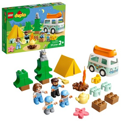 LEGO DUPLO Town Family Camping Van Adventure 10946 Building Toy