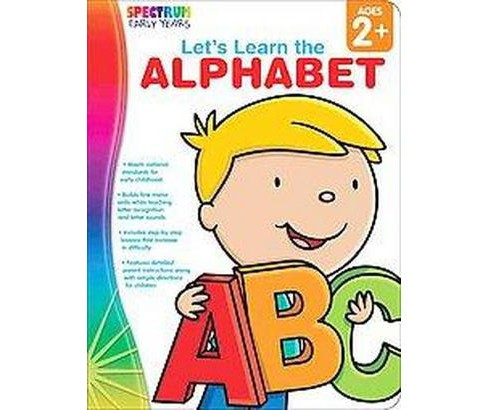 Let's Learn the Alphabet : Ages 2+ (Paperback) - image 1 of 1