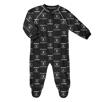 NFL Oakland Raiders Baby Boys' Blanket Sleeper - 6-9M