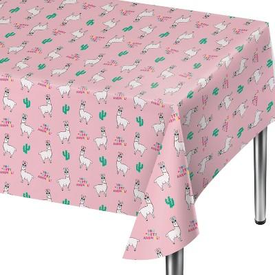 Llama Cactus Table Cover/Backdrop - Spritz™