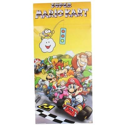 """Nerd Block Super Mario Kart 10""""x22"""" Poster"""