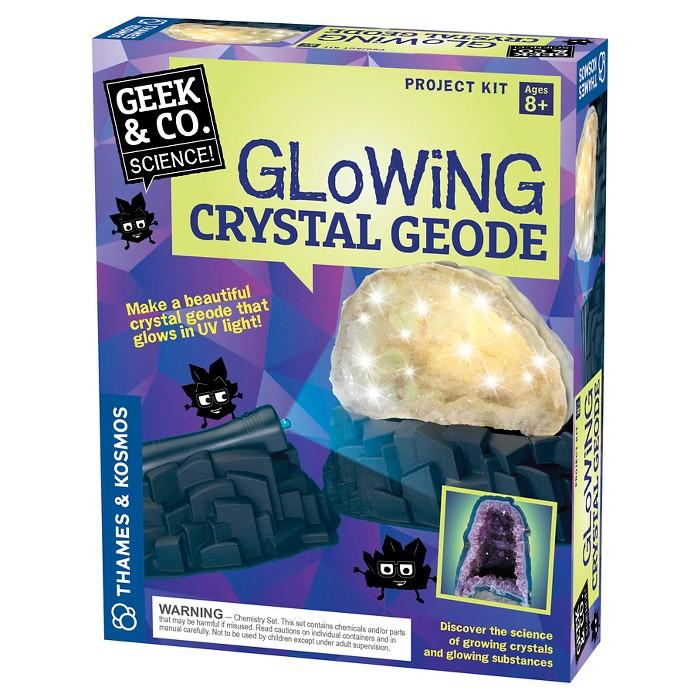 Thames & Kosmos Glowing Crystal Geode - image 1 of 4
