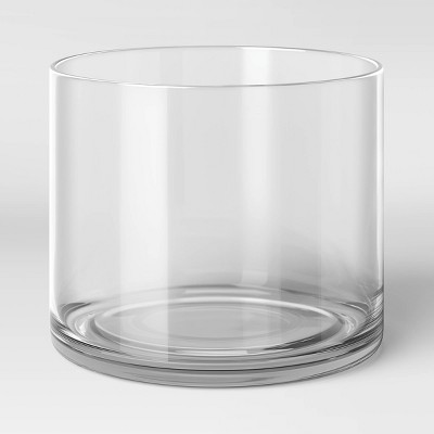 """6"""" x 7"""" Glass Vase - Threshold™"""