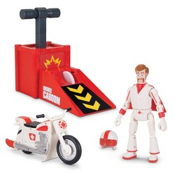 Toy Story Signature Collection Duke Caboom Stunt Set with Jump & Wheelie Action
