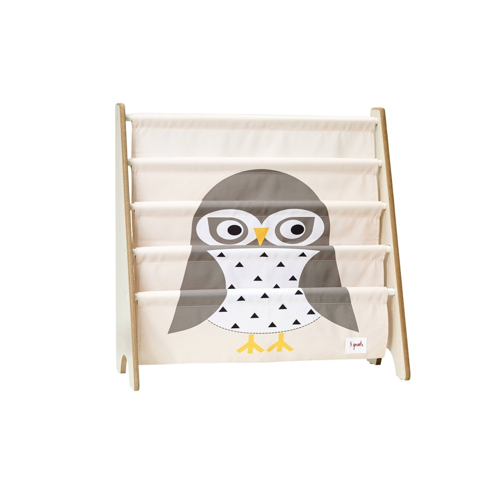 Image of Owl Book Rack - 3 Sprouts