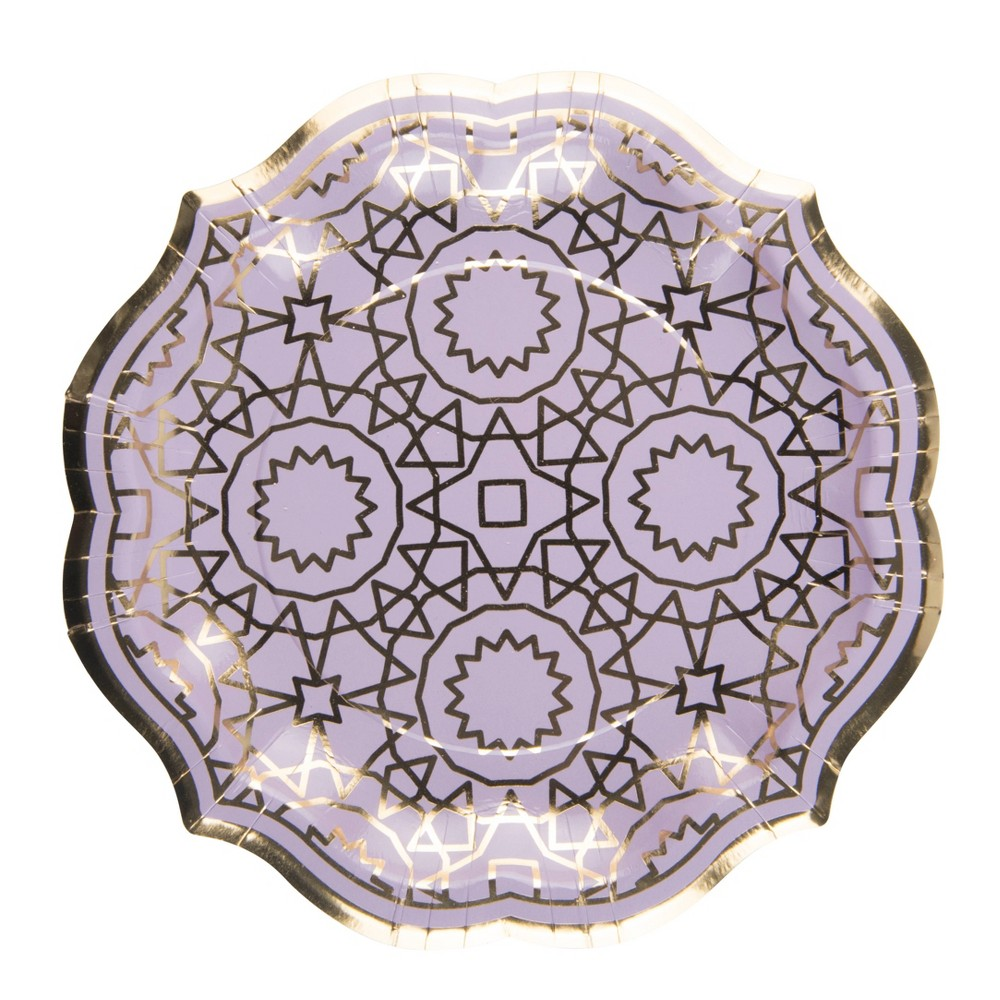 Image of 8ct Boho Sophistiplate Salad Plate