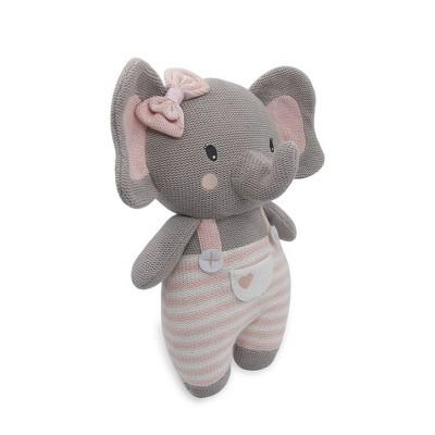Living Textiles Baby Stuffed Animal - Mia Elephant