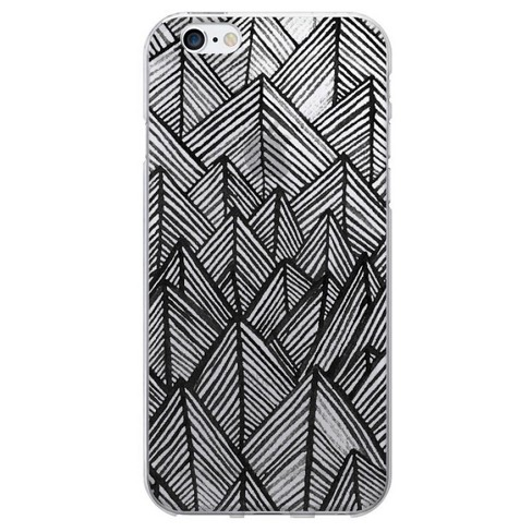 iPhone 6/6S Case - OTM Artist Prints Clear - Rocks - image 1 of 1