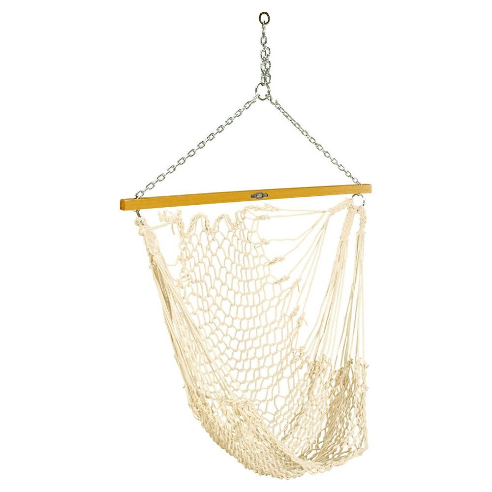 Original Pawleys Island Single Cotton Rope Swing - Natural, Ivory