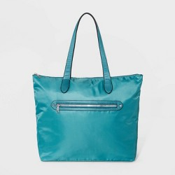 Zip Closure Tote Handbag - A New Day™