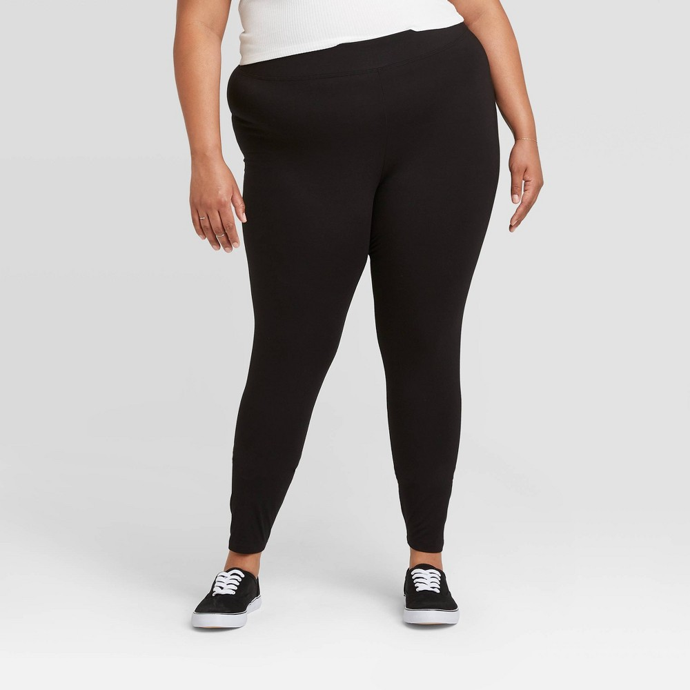 Cheap Women's Plus Size High-Waisted Leggings - A New Day™