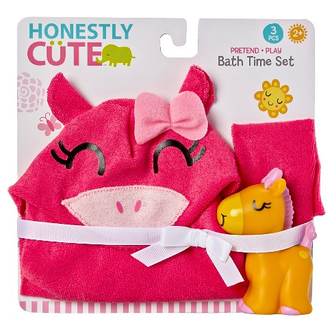 Honestly Cute Bath Time Set - image 1 of 4