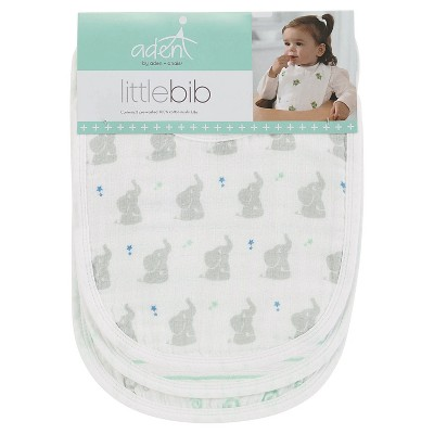 Aden + Anais 3pk Little Bibs Set - Baby Star