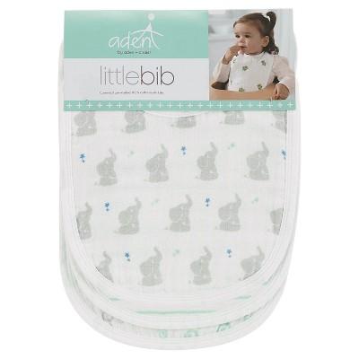 Aden + Anais 3pk Little Bibs Set - Baby Star