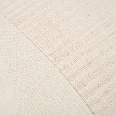 """20""""x20"""" Color Block Polyester Filled Pillow Blush - Donny Osmond Home : Target"""
