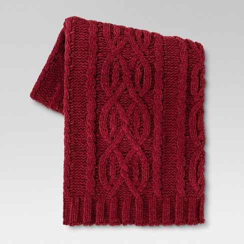 Chunky Chenille Throw Blanket (50