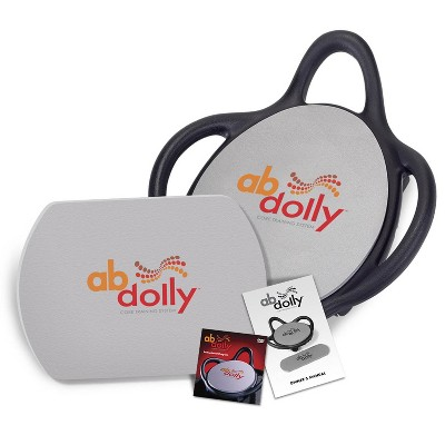 ABDolly Home Gym Fitness Abdominal Abs Training Exercise Machine Equipment with Workout DVD for Cardio, Strength/Conditioning, &  Plyometric Training