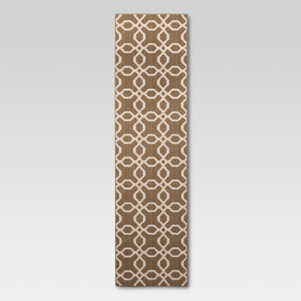 Washable Accent Runner Tan