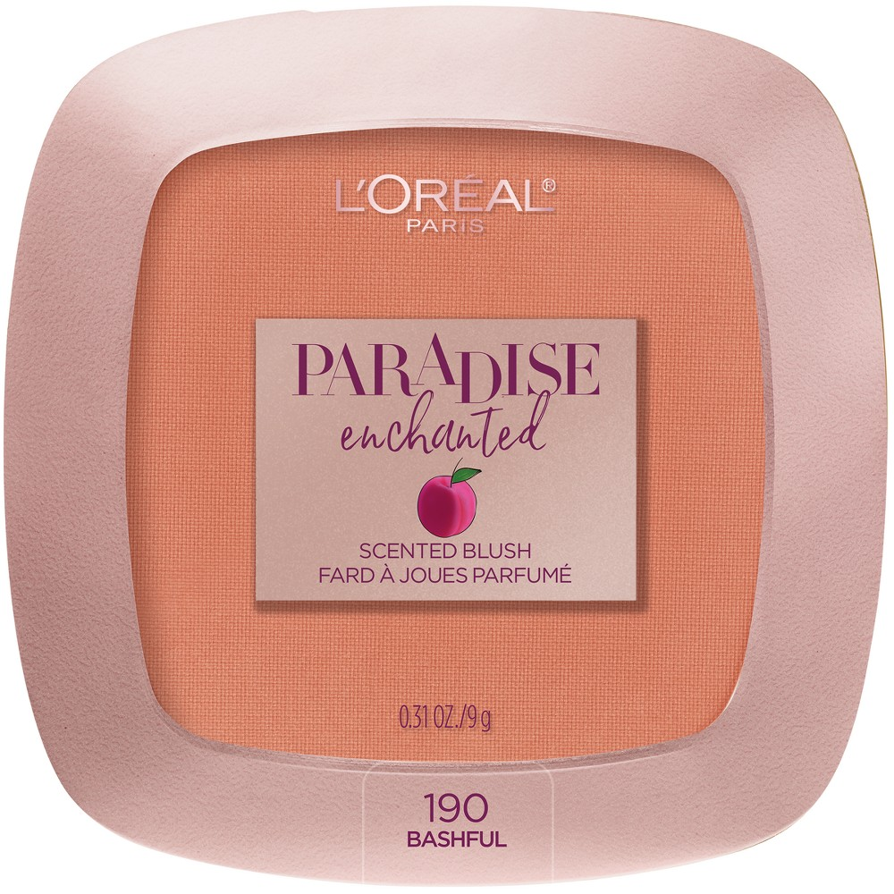 L'Oréal Paris Paradise Enchanted Fruit-Scented Blush Makeup Bashful - .31oz