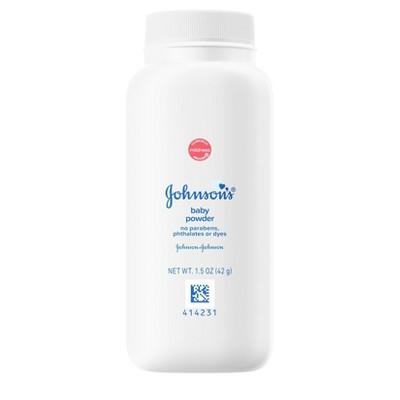 Johnson & Johnson Baby Powder - 1.5oz