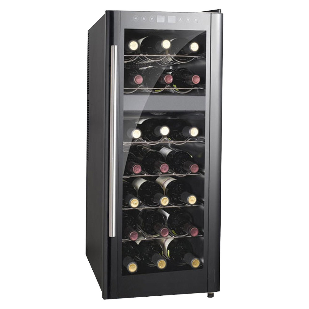 Sunpentown Dual Zone 21 Bottle Wine Cooler – Black WC-219DH 13897875