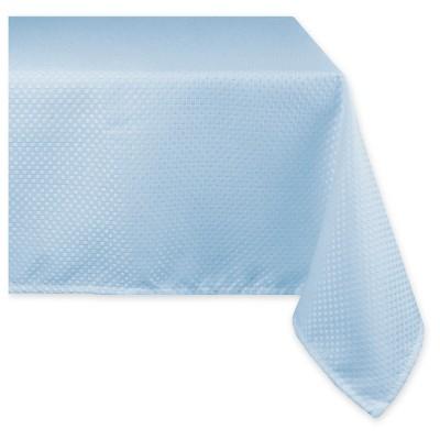 120 x70  Elegant Bead Tablecloth Blue - Design Imports