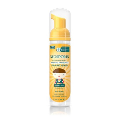 Neosporin Wound Cleanser for Kids - 2.3oz.