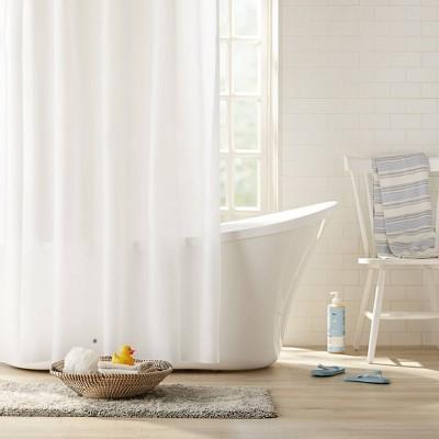 2pk Heavyweight PEVA Shower Curtain Liner Frost - Clorox