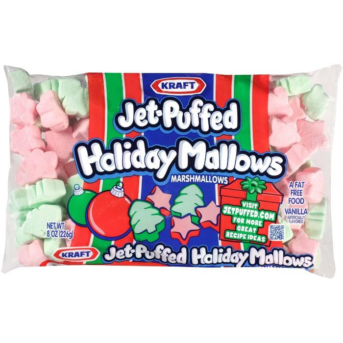Kraft Jet-Puffed Holiday Mallows Marshmallows - 10oz - image 1 of 1