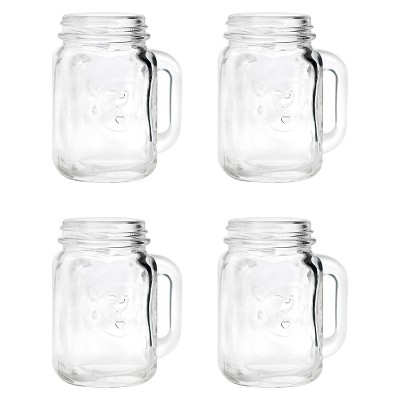 Mason Jar Shot Glasses - 4 ct