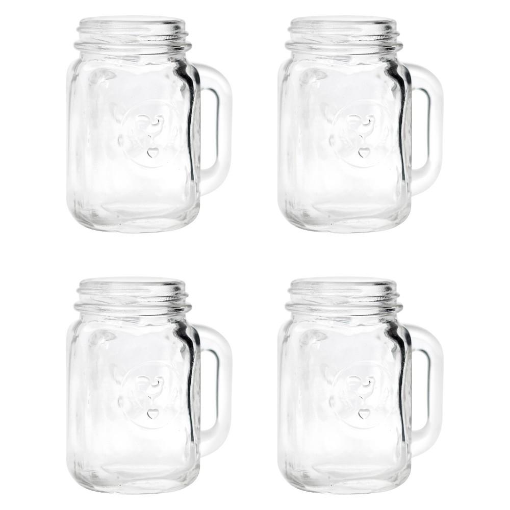 Image of Mason Jar Shot Glasses - 4 ct, Medium Clear