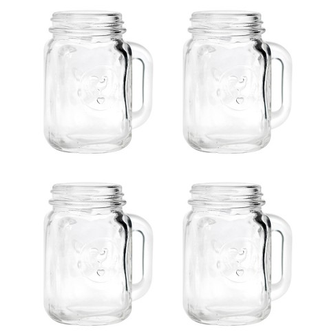 Mason Jar Shot Glasses 4 Ct Target