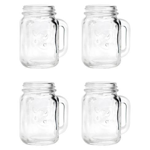 Mason Jar Shot Glasses 4 Ct Target