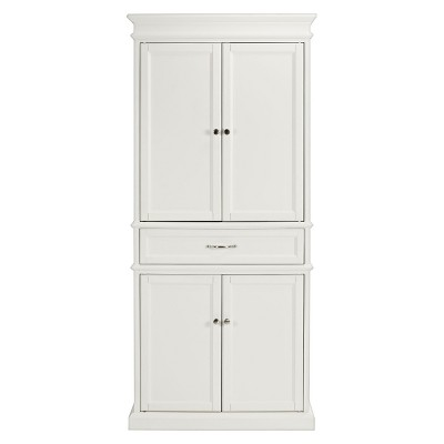 Parsons Pantry Storage Wood/White - Crosley